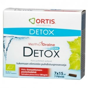 Methoddraine Detox Express 7 X 15 Ml Puhdistava Kuuri