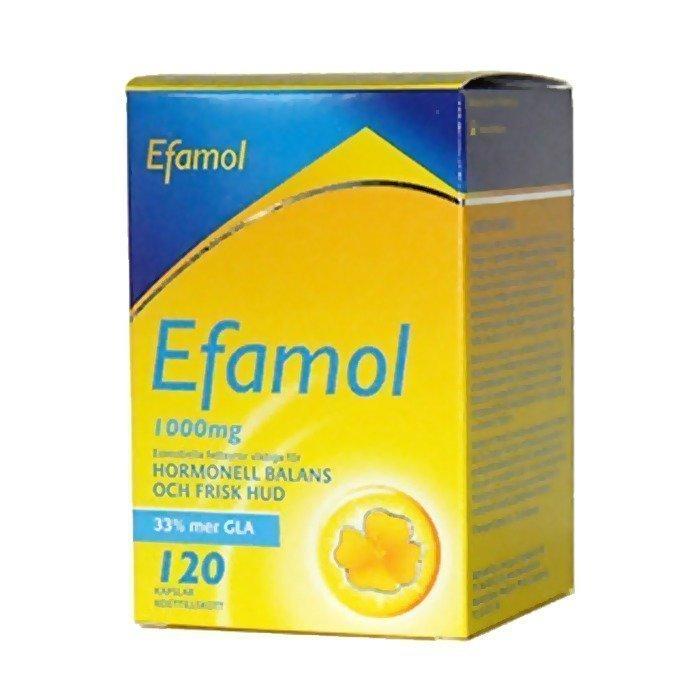 Midsona Efamol 120kpl Korkeatiivistetty 120 kapselia