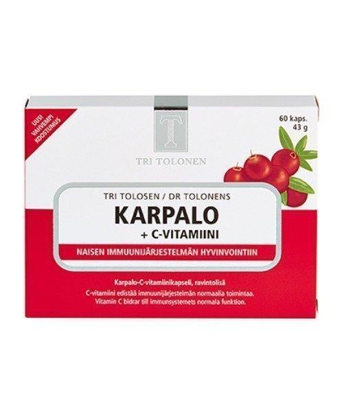 Midsona Finland Tri Tolonen Karpalo-C-vitamiini