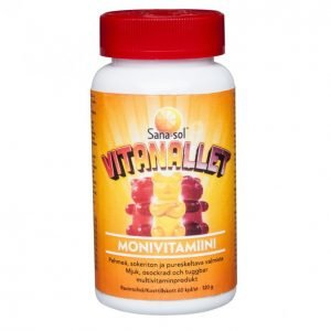 Monivitamiini Vitanallet 60kpl