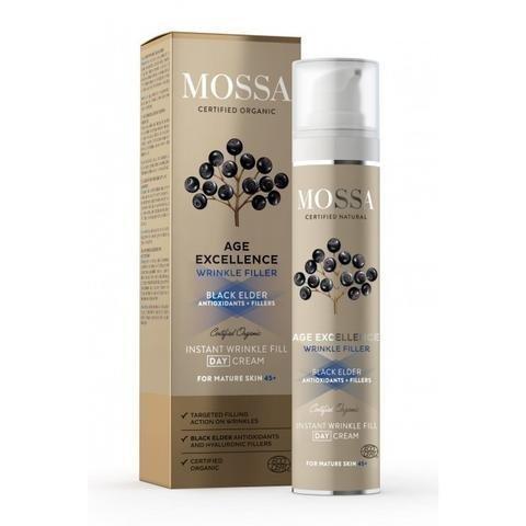 Mossa Age Excellence Instant Wrinkle Fill Päivävoide