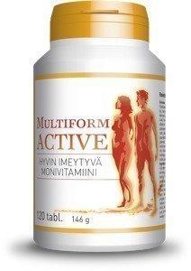 Multiform Active Monivitamiini 120tabl.