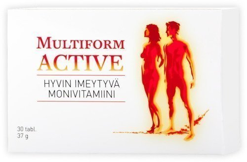 Multiform Active Monivitamiini 30tabl.