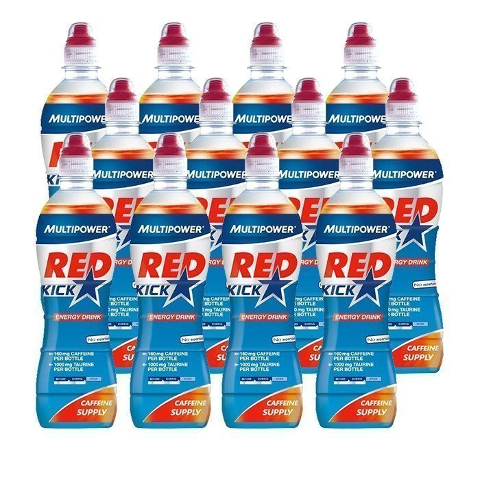 Multipower 12 x Red Kick 500 ml