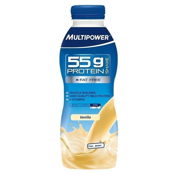 Multipower Protein shake 55 g 500 ml Choklad