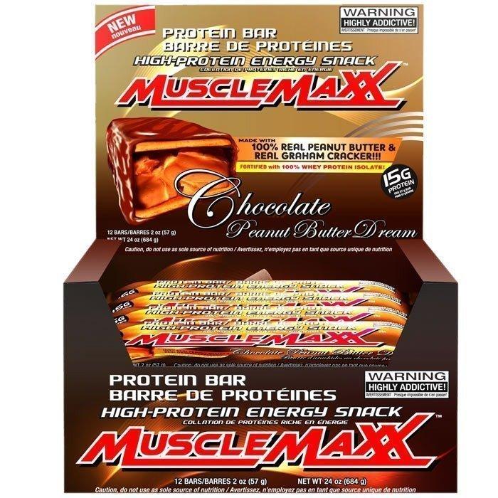 MuscleMaxx 12 x MuscleMaxx 57 g