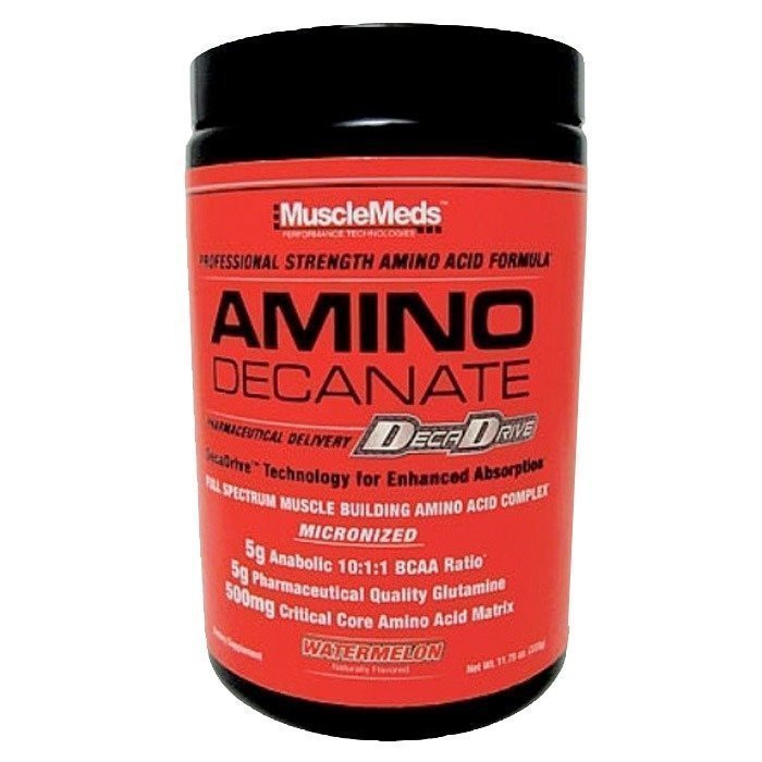 MuscleMeds Amino Decanate 360 g Lime