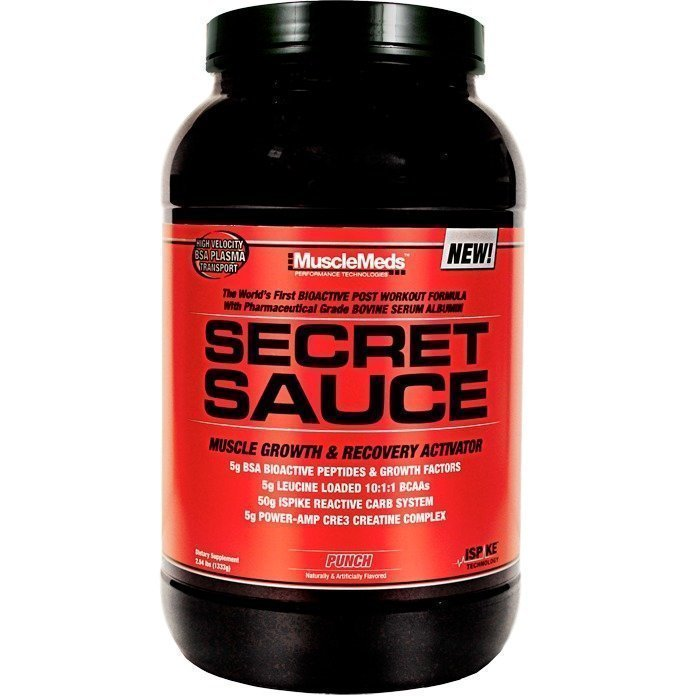 MuscleMeds Secret Sauce 1420 g Orange
