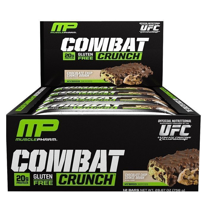 MusclePharm 12 x Combat Crunch bar 63 g
