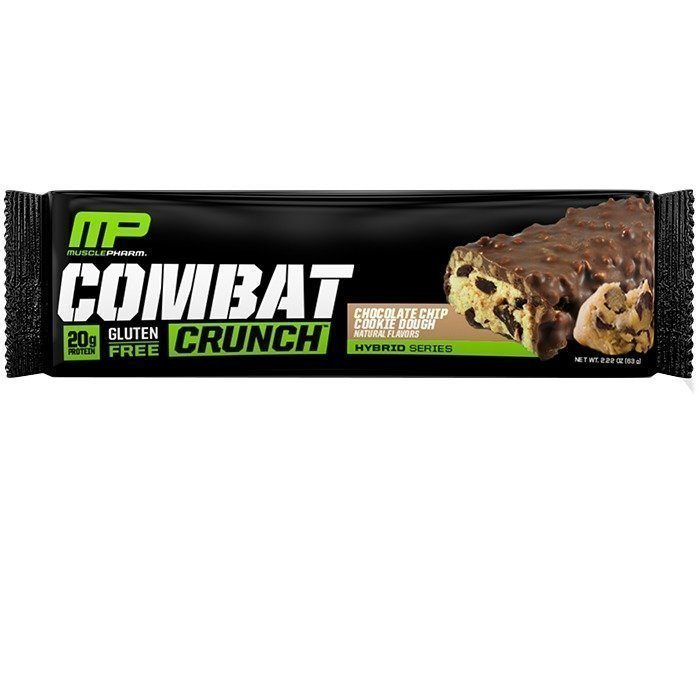 MusclePharm Combat Crunch Bar 63 g Chocoloate Chip Cookie