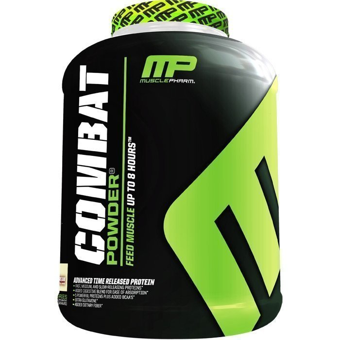 MusclePharm Combat Powder 1800 g Banana Cream