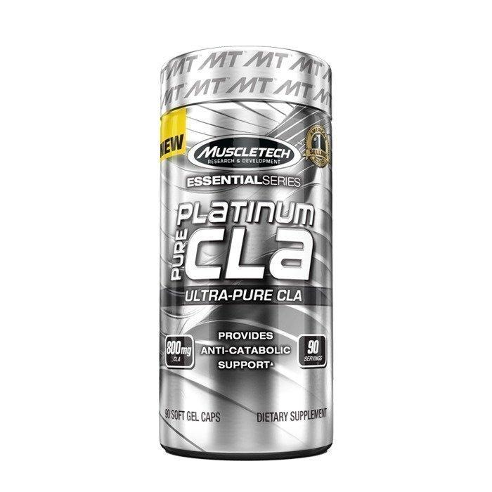 MuscleTech 100% Platinum CLA 90 gels