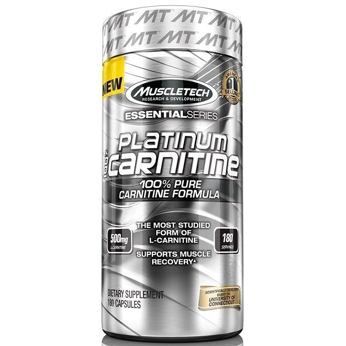 MuscleTech 100% Platinum Carnitine 180 caps