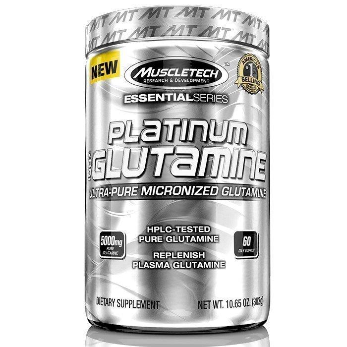MuscleTech 100% Platinum Glutamine 302 g
