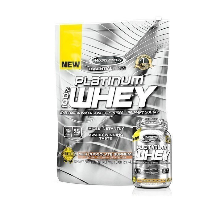 MuscleTech 100% Platinum Whey 4