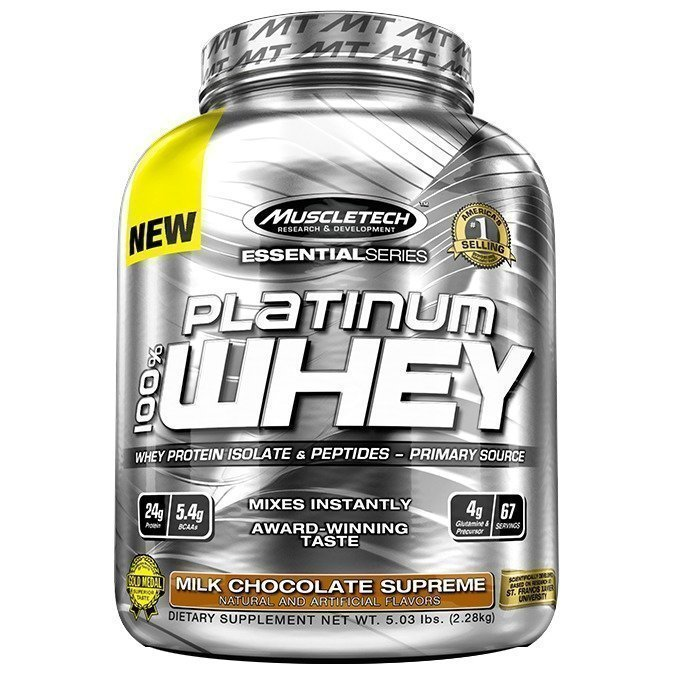 MuscleTech 100% Platinum Whey