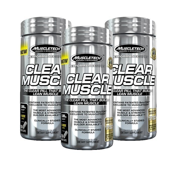 MuscleTech 3 x Clear Muscle