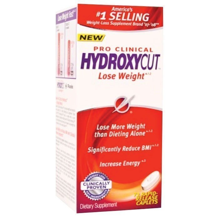 MuscleTech Hydroxycut Pro Clinical 72 tabs