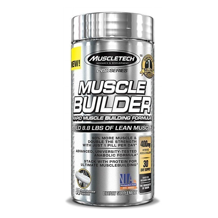 MuscleTech Muscle Builder 30 caps