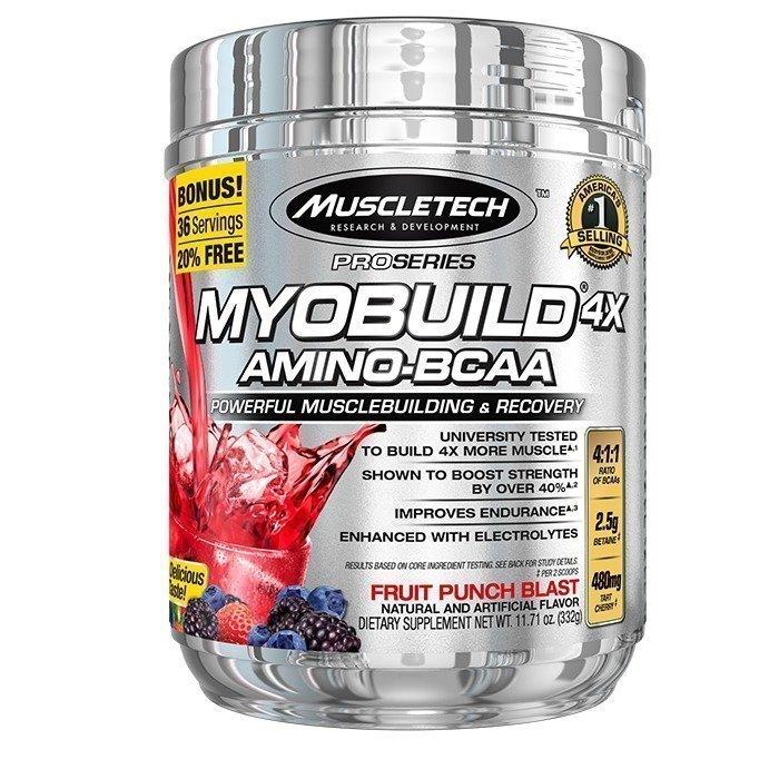 MuscleTech MyoBuild 4X 332 g Fruit Punch