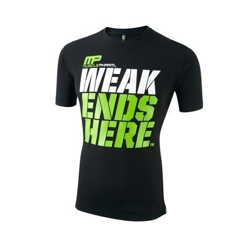 Musclepharm Weak Ends Here T-paita