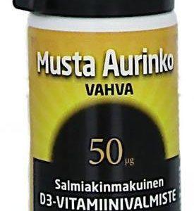 Musta Aurinko D3-Vitamiini 50 Mikrog