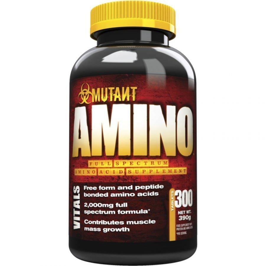 Mutant Amino 300capsules Purkkia Maustamaton