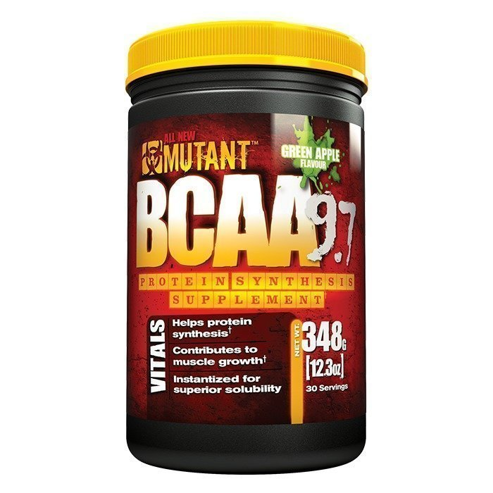 Mutant BCAA 9.7 30 servings Green Apple