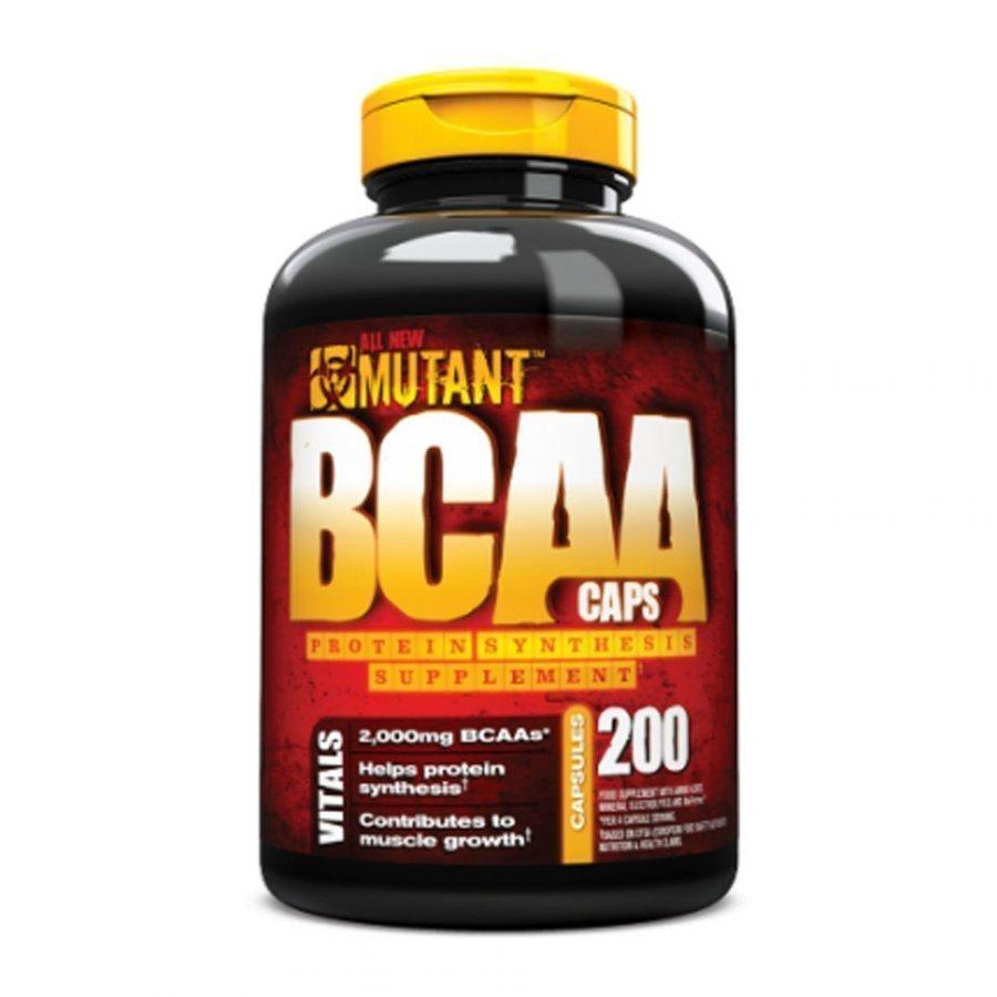Mutant Bcaa X 200 Caps 400capsules Purkkia Maustamaton