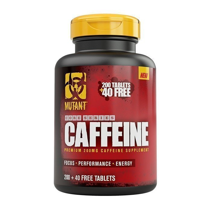 Mutant Core Series Caffeine 240 tabs
