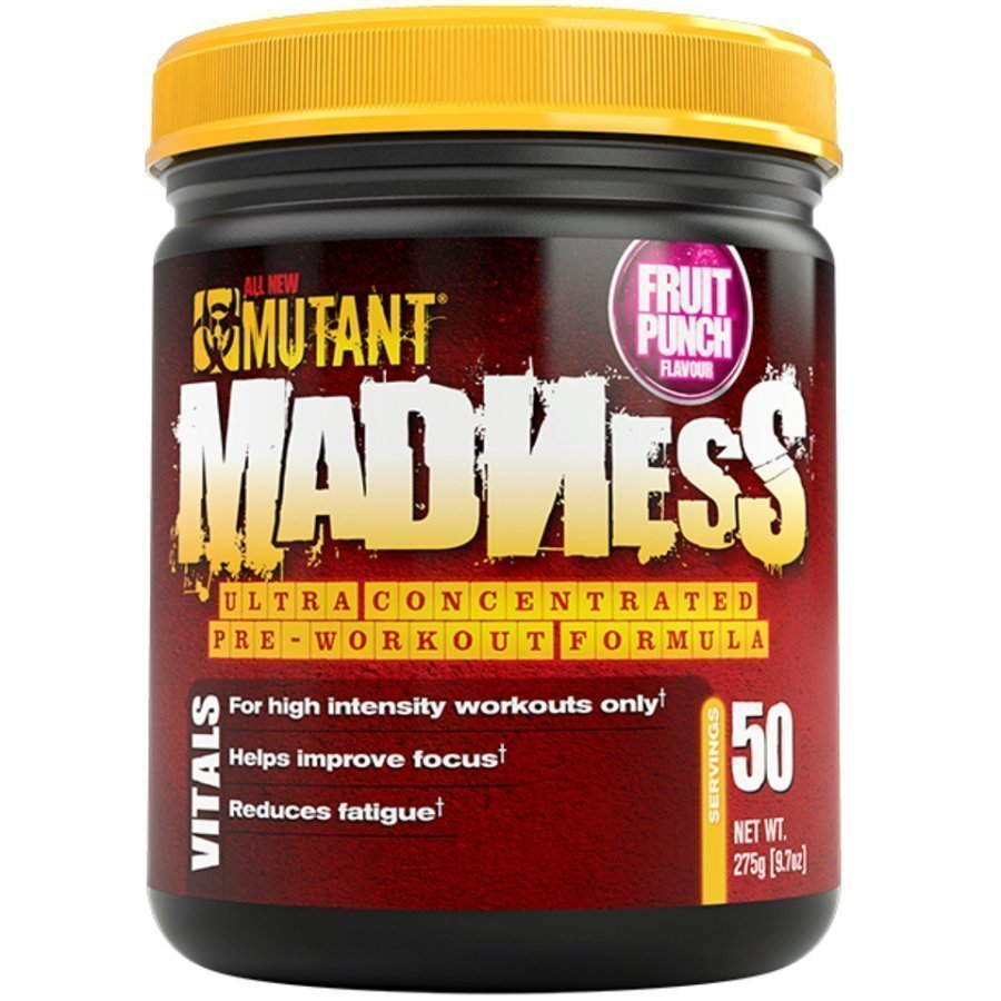 Mutant Madness 275 G 275 G Tuubi Hedelmä Punch