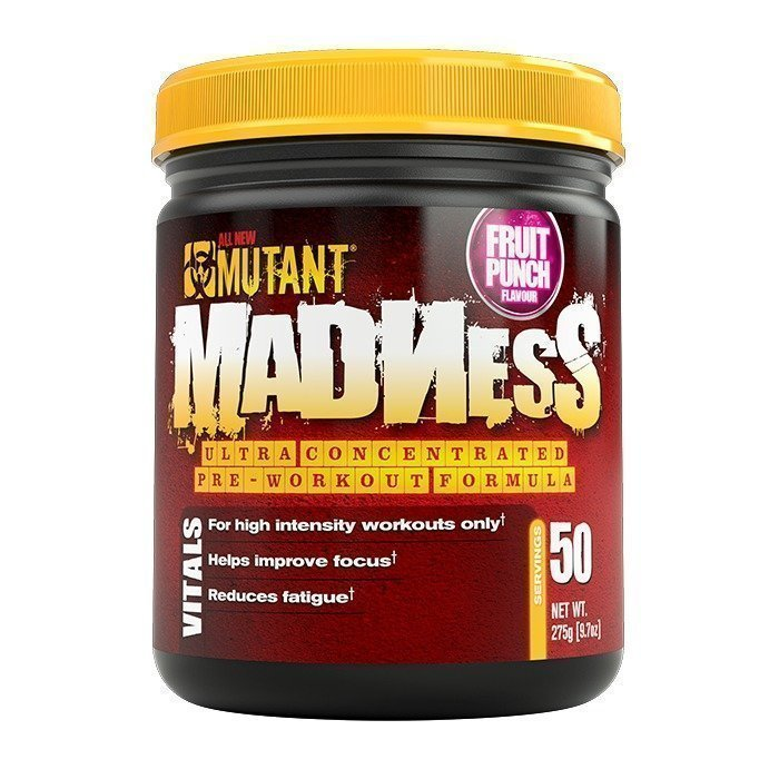 Mutant Madness 275 g Blue Raspberry