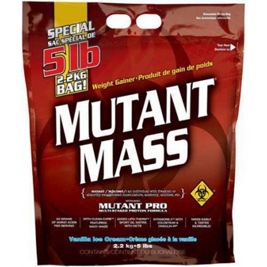 Mutant Mass Massanlisääjä 2200 G Pussi Vaniljajäätelö