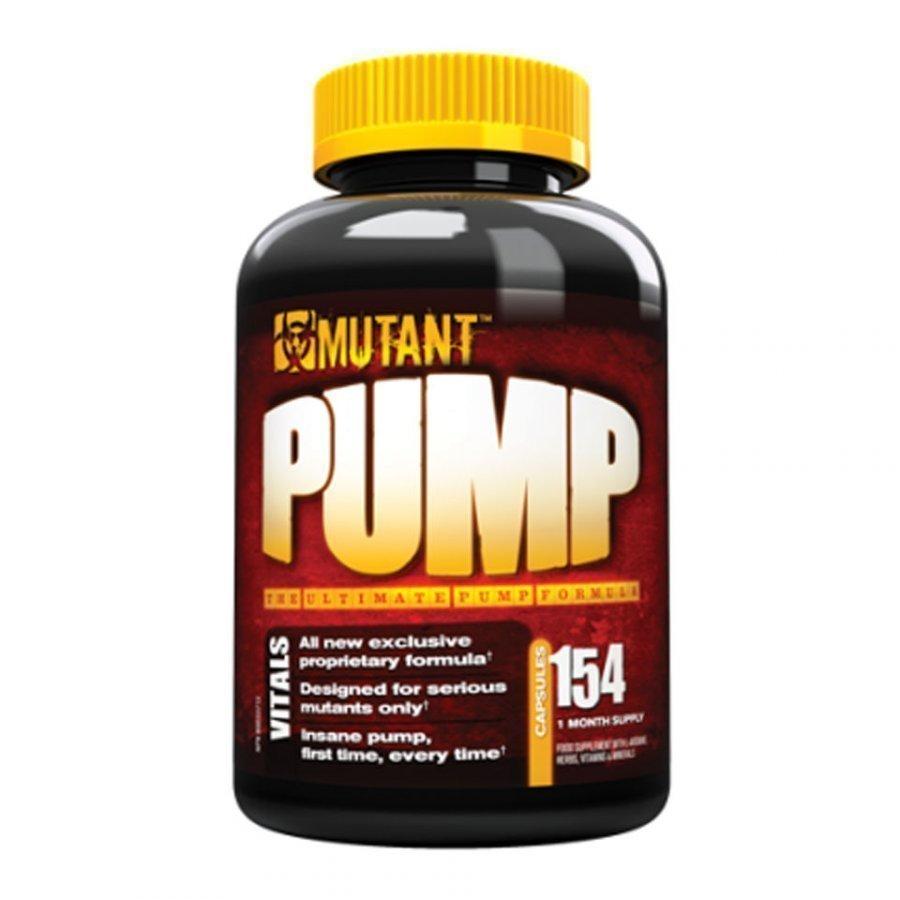 Mutant Pump X 154 Caps 154capsules Purkkia Maustamaton