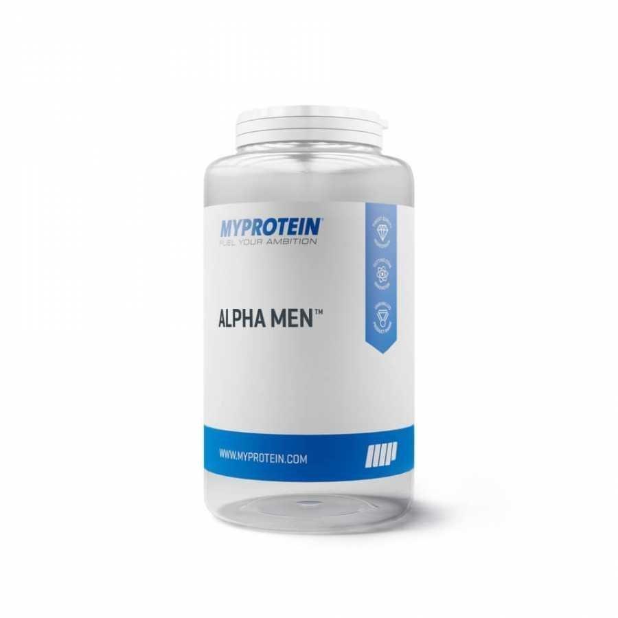 Myprotein Alpha Men Monivitamiini 120tablets Muovipurkki Maustamaton