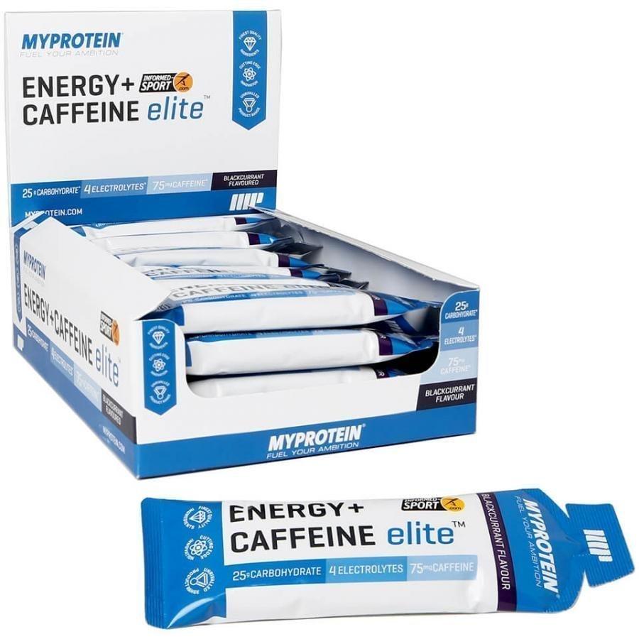 Myprotein Energy Elite + Caffeine 20 X 50 G Annospussit Mustaherukka