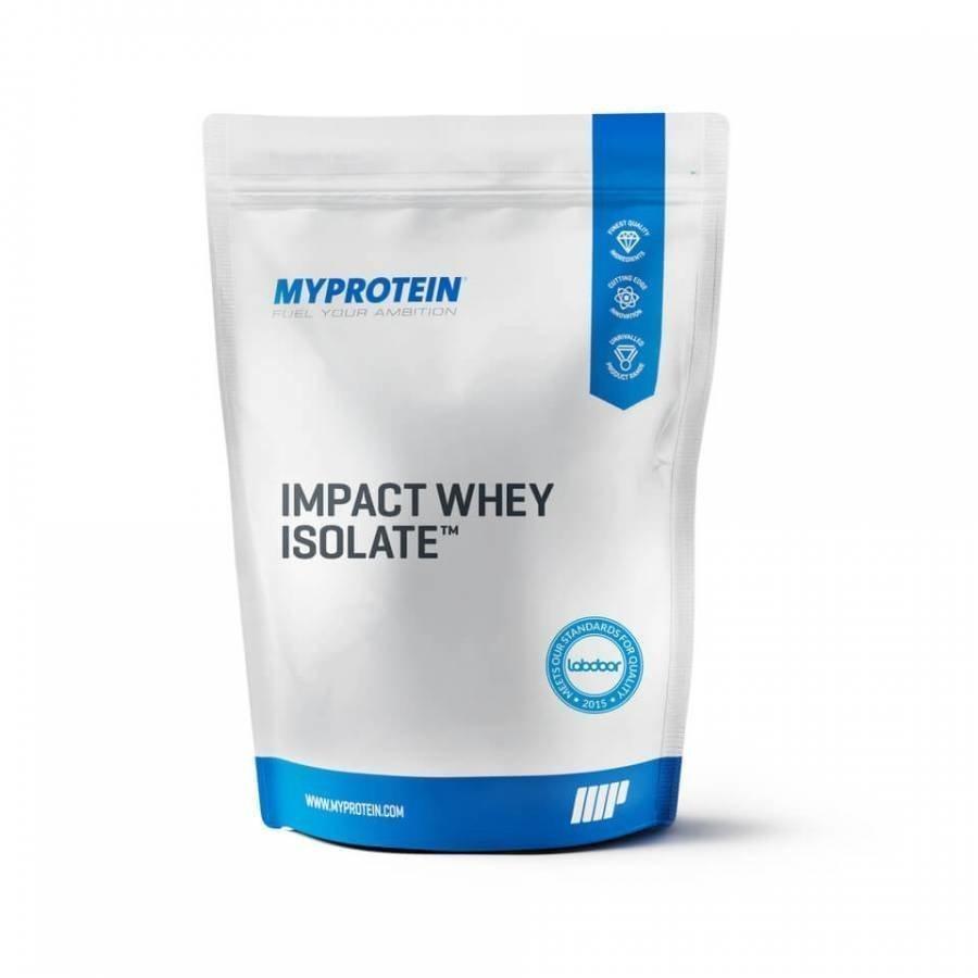Myprotein Impact Whey Isolate Heraproteiini 1 Kg Pussi Maustamaton