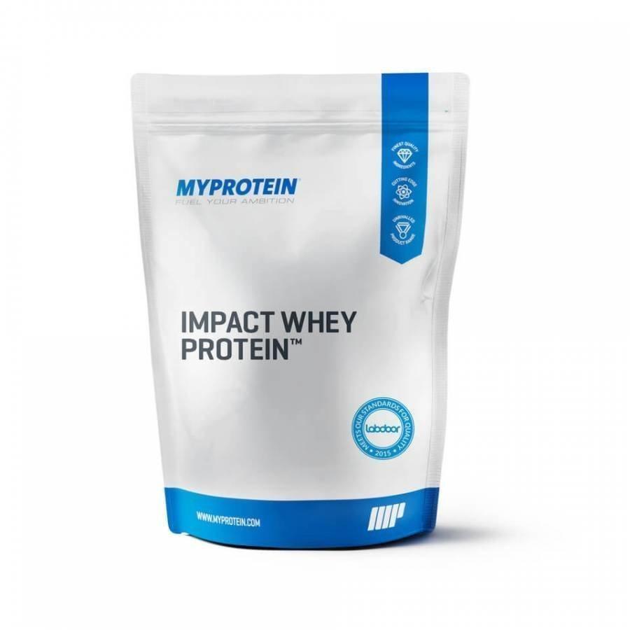Myprotein Impact Whey Protein 1 Kg Pussi Karamelli-Suklaa
