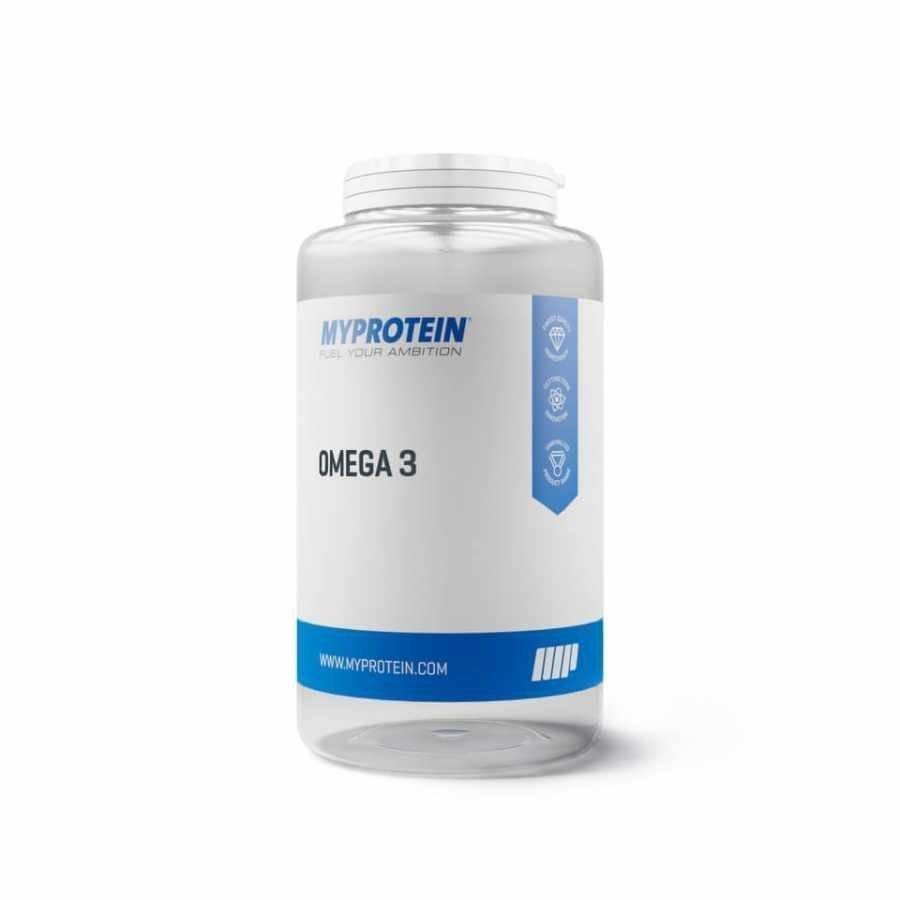 Myprotein Omega 3 1000capsules Muovipurkki Maustamaton