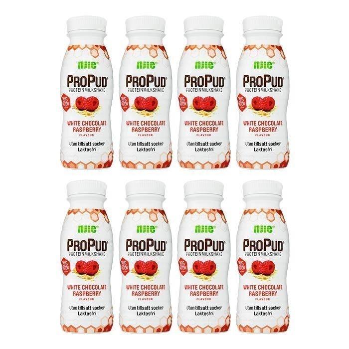 NJIE 8 x ProPud Protein Milkshake Lactose free 330 ml