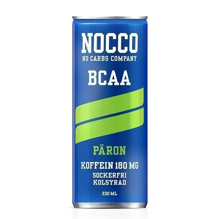 NOCCO BCAA+ 330 ml Jordgubb/Rabarber