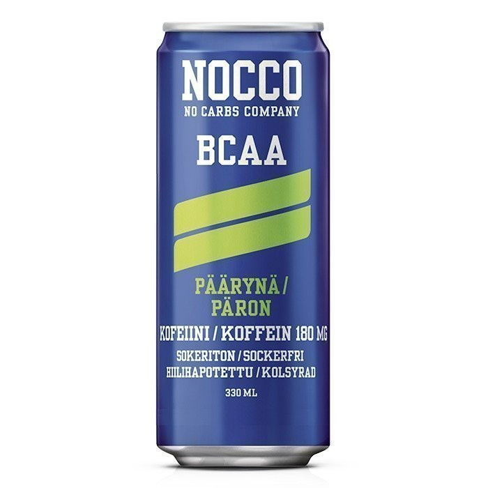 NOCCO BCAA 330 ml Mansikka/Raparperi