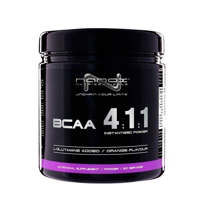 Nanox Nutriceuticals BCAA 4:1:1 300 g Orange