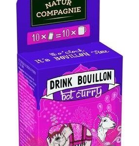 Natur Compagnie Luomu Drink Bouillon Hot Curry