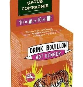 Natur Compagnie Luomu Drink Bouillon Hot Ginger