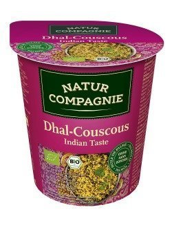 Natur Compagnie Luomu Valmisateria Couscous Intialainen Dal