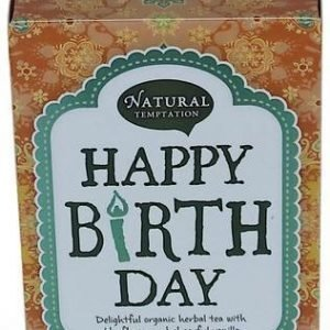 Natural Temptation Happy Birthday Luomutee