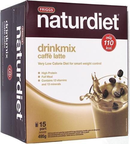 Naturdiet Drinkmix Caffe Latte