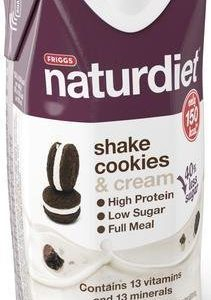 Naturdiet Shake Cookies & Cream