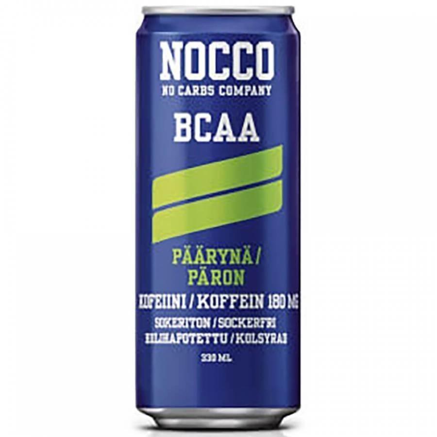 Nocco Bcaa 1 X 330 Ml Can 330 Ml Can Strawberry & Rhubarb
